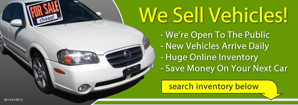 Salvage Cars for Sale @ AutoGator